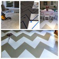 I painted my concrete patio floor! | Backyard | Pinterest
