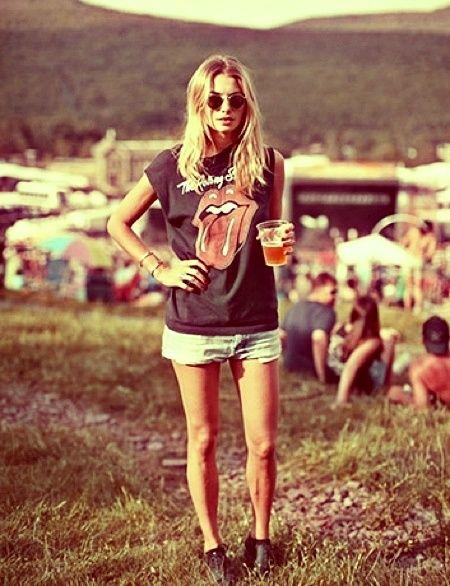 Summer festival look