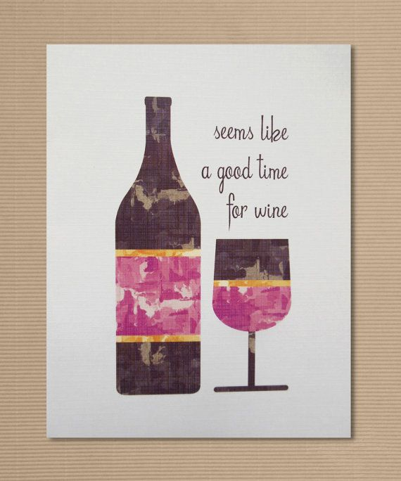 Greeting Card For Wine Lovers