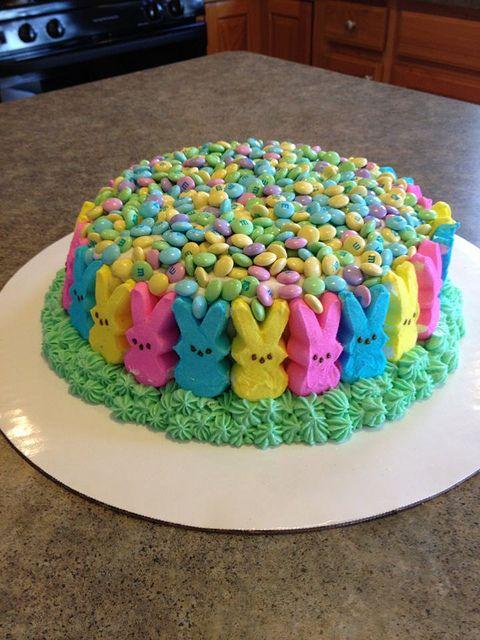 Peeps Cake Easter