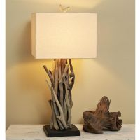 Driftwood Cluster Table Lamp