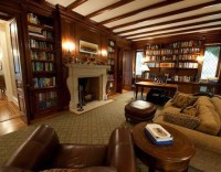English manor home library. | Earnest | Pinterest