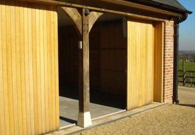 Horizontal Sliding Garage Doors