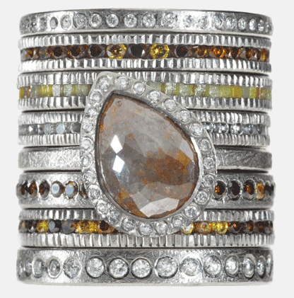 Todd Reed. Raw, imperfect diamonds are his stone of choice.