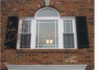 Bay window with Prairie Grids | Cape Cod Dormer Ideas ...