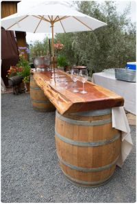 wine barrel projects | Wine Barrel | WINE BARRELS | Pinterest