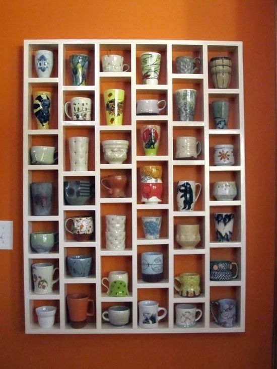 mug shelf. MUST. HAVE.