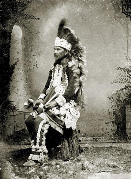 Iroquois man Native American Pinterest