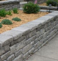 retaining wall for front yard?   Outdoor   Pinterest