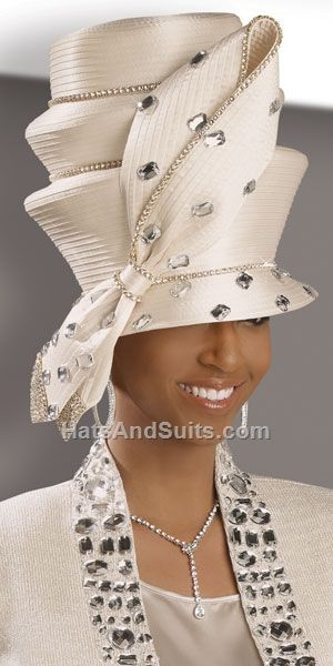 Image detail for -donna vinci couture church hat h2046 beautiful designer hat by