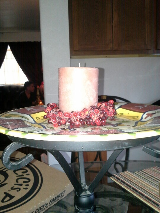 Kitchen Table Centerpiece Home