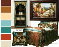 Tuscan Bedroom Colors | Tuscan/Old World Decor | Pinterest