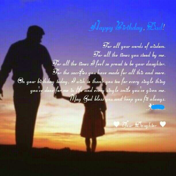 Quotes Heaven Happy Birthday Dad