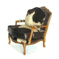 CHAIR COW HIDE on Etsy, $2,850.00 | Furniture | Pinterest