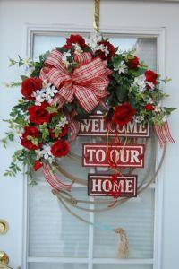 Valentine Wreath | Front Door | Pinterest