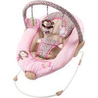 Pink monkey bouncer | Baby Q | Pinterest