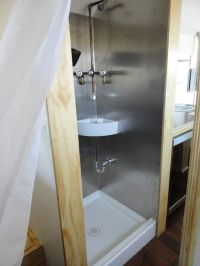 shower/sink combo | Tiny Living | Pinterest