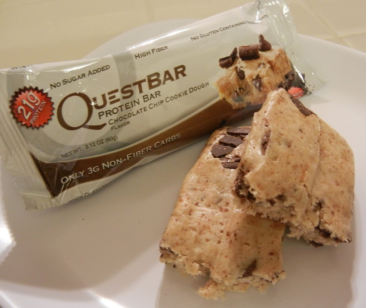 Chocolate Chip Cookie Dough New Quest Bar flavor!  #vitaminshoppecontest