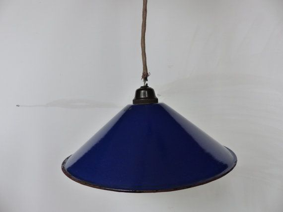 Cobalt Blue Pendant Light