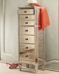 """Amelie"" Mirrored Lingerie Chest"