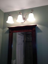Bathroom Above Mirror Lighting