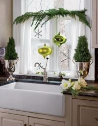 Elegant Christmas Window Dcor Ideas