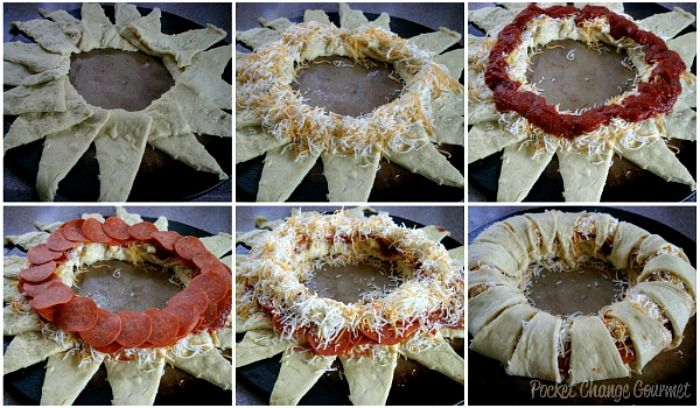 Baked Taco Ring Recipe Crescent