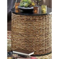 Seagrass End Table   Home Decor   Pinterest