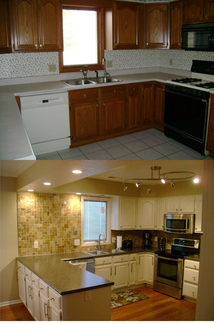 It's the place the whole family gathers for meals, homework, conversation and entertaining. Kitchen remodel on a budget! | Kitchens | Pinterest