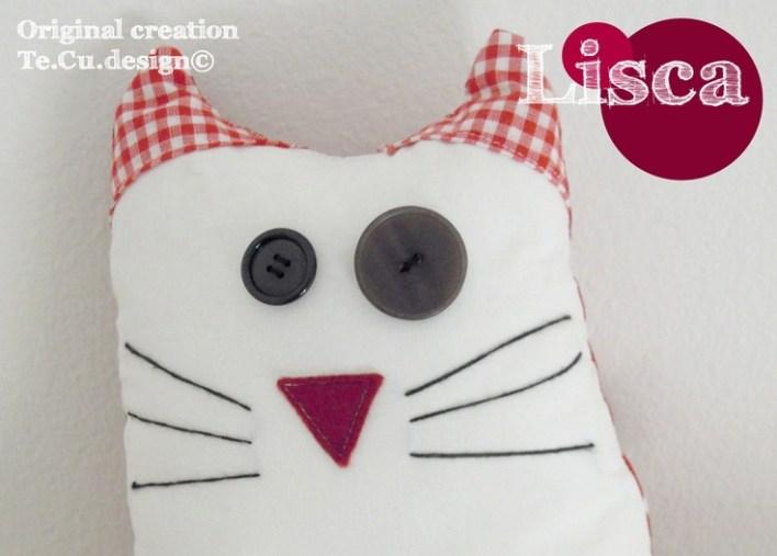 Lisca a little soft cat! http://ilpampano-designbimbi.blogspot.it/