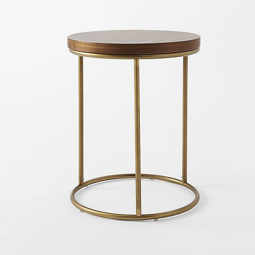 Dot Inlay Side Table | west elm