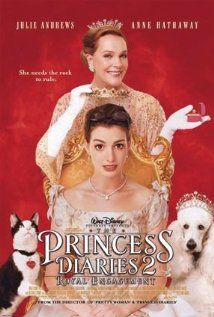 THE PRINCESS DIARIES 2: ROYAL ENGANGEMENT.  Director: Garry Marshall.  Year: 2004.  Cast: Anne Hathaway, Callum Blue, Julie Andrews, Hector Elizondo