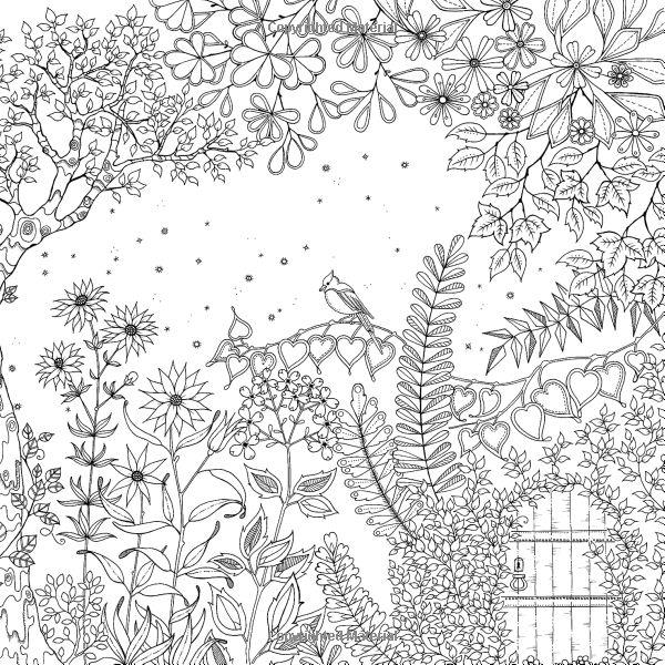 Free Secret Garden Coloring Pages