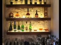 bar shelving ideas | Old Kitchen Bar | Pinterest