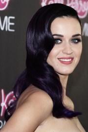 deep purple hair beauty
