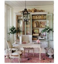Shabby chic office space | Shabby Chic | Pinterest