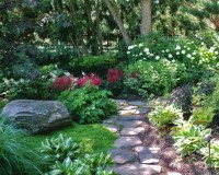 beautiful shade garden | backyard ideas | Pinterest