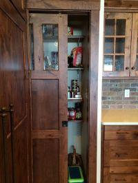 Pocket pantry door.   Kitchen   Pinterest