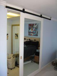 Sliding Barn Doors: Sliding Barn Door With Mirror
