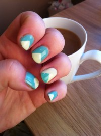 Triangle Nail Design | www.imgkid.com - The Image Kid Has It!