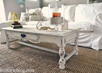 DiY: shabby chic white coffee table | ThE PrOjeCt Of 2012 ...