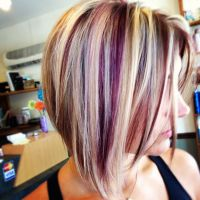 Fun hair color for the fall! Be daring!! #funhaircolors # ...