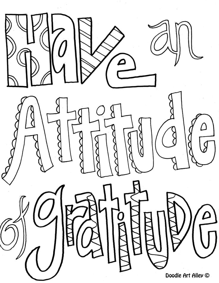 Printable Doodle Quotes To Color. QuotesGram