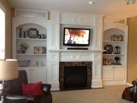 Fireplace remodel | Home Decor | Pinterest