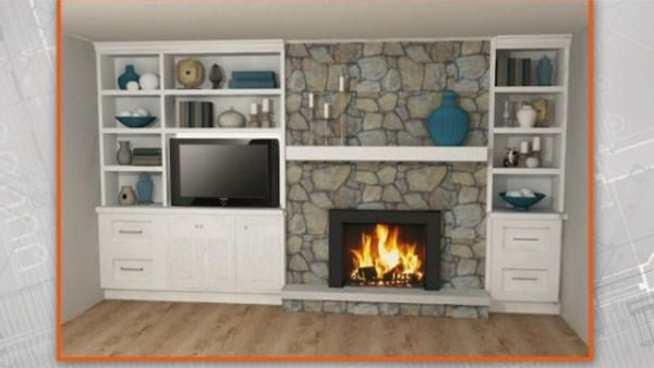 Update Old Fireplace  Steven and Chris  Pinterest