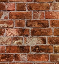 Faux brick | Restaurant Ideas | Pinterest