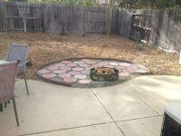 Cheap fire pit layout. | Patio | Pinterest