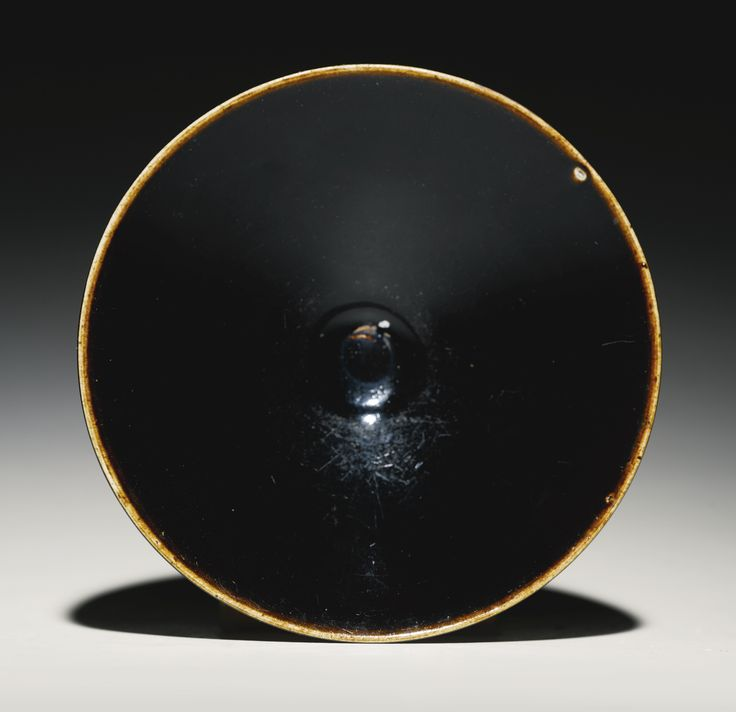 A black-glazed conical bowl, Song Dynasty