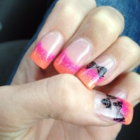 Acrylic Nail Designs With Bows | Nail Designs, Hair Styles ...