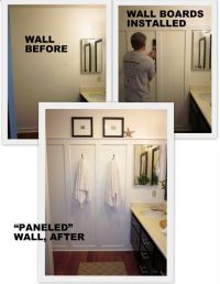 DIY remodel small bathroom | For the Home | Pinterest